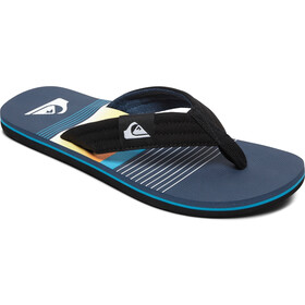 Quiksilver Molokai Layback Sandals Men black/blue/black